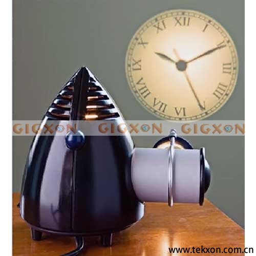 HOT Analog Projection Clock With Working Clock Face