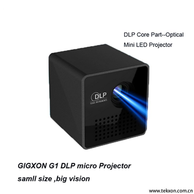2016 newest dlp micro projector 1080p support mini for Micro mini projector