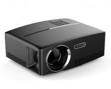 G88 1800 lumens mini LED projector 800*480 support full HD 1080P portable theater projector for business