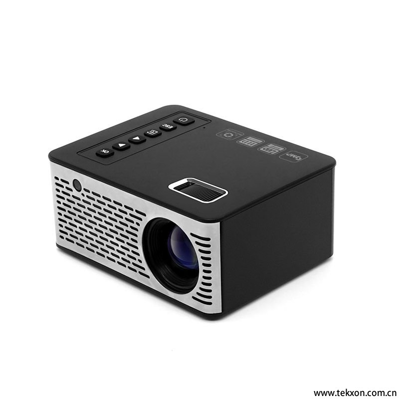 G200Mini Projector Portable Projector LED Projector Touch Screen Button Projector