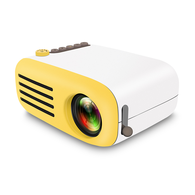 G2000 LED projector Mini portable projector Home projector 600lm